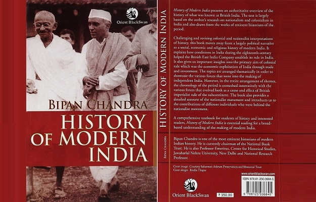 ' History of modern India ' ' a brief history of modern india pdf ' ' Bipan Chandra '