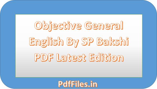 ' General English Pdf '