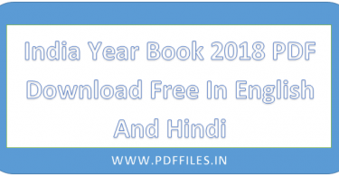 ' India Year Book 2018 PDF Download ' ' India Year Book 2018 '