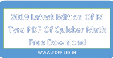 ' M Tyra PDF Of Quicker Math Free Download ' ' M Tyra PDF '