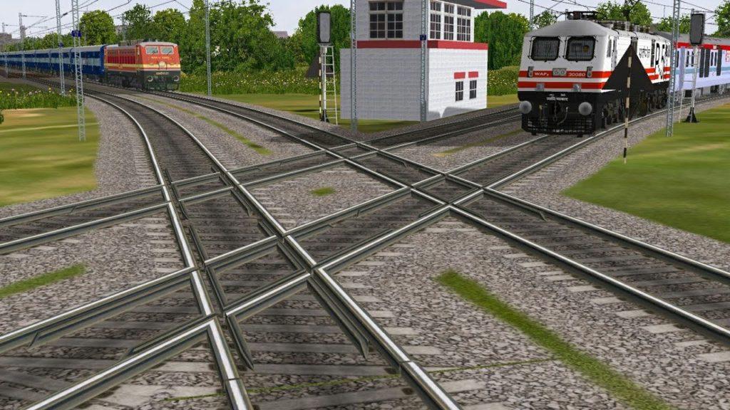 ' diamond crossing ' ' double diamond crossing '