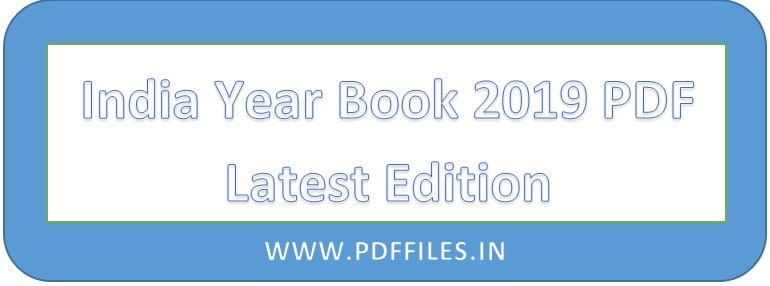 ' India Year Book 2019 PDF Download ' ' India Year Book 2019 ' ' India YearBook 2019 PDF '