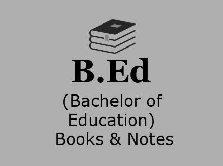 ' b.Ed books ' ' b.Ed notes ' ' b.Ed course details '
