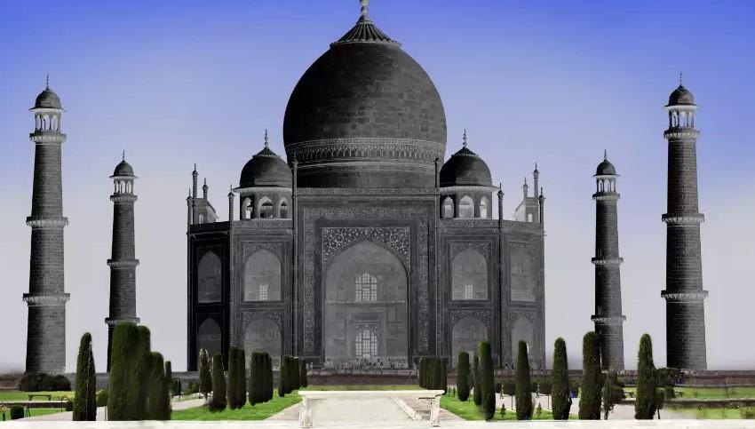 ' Black Taj Mahal ' ' Taj Mahal '