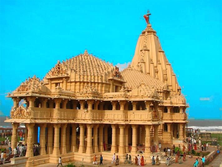 ' Shree Somnath Jyotirlinga Temple ' ' Somnath Temple '