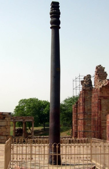 ' iron pillar of delhi ' ' iron pillar in delhi '