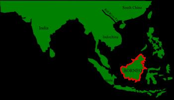 ' Borneo Island ' ' Borneo Island in Asia ' ' Borneo in Asia '