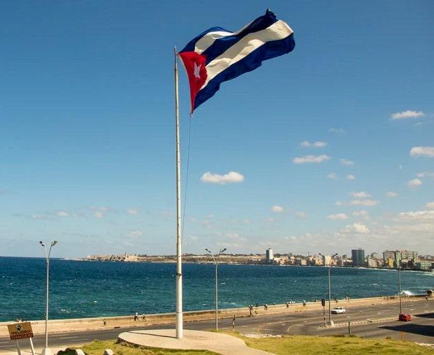 ' Cuba flag ' ' Facts about Cuba '