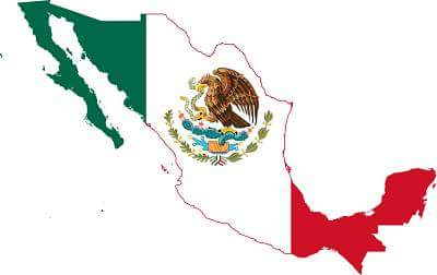 ' Mexico Flag ' ' Facts about Mexico '