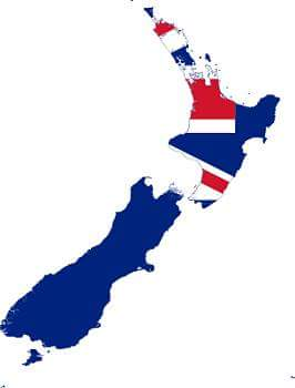 ' new zealand map '