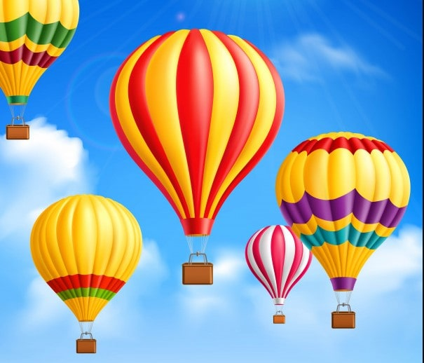 ' Hydrogen Gas Balloons ' ' Gas Balloons '